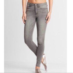 Benetton Jeans Gray/Black Stretch Skinny Jeans